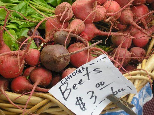 Beets farmer's market