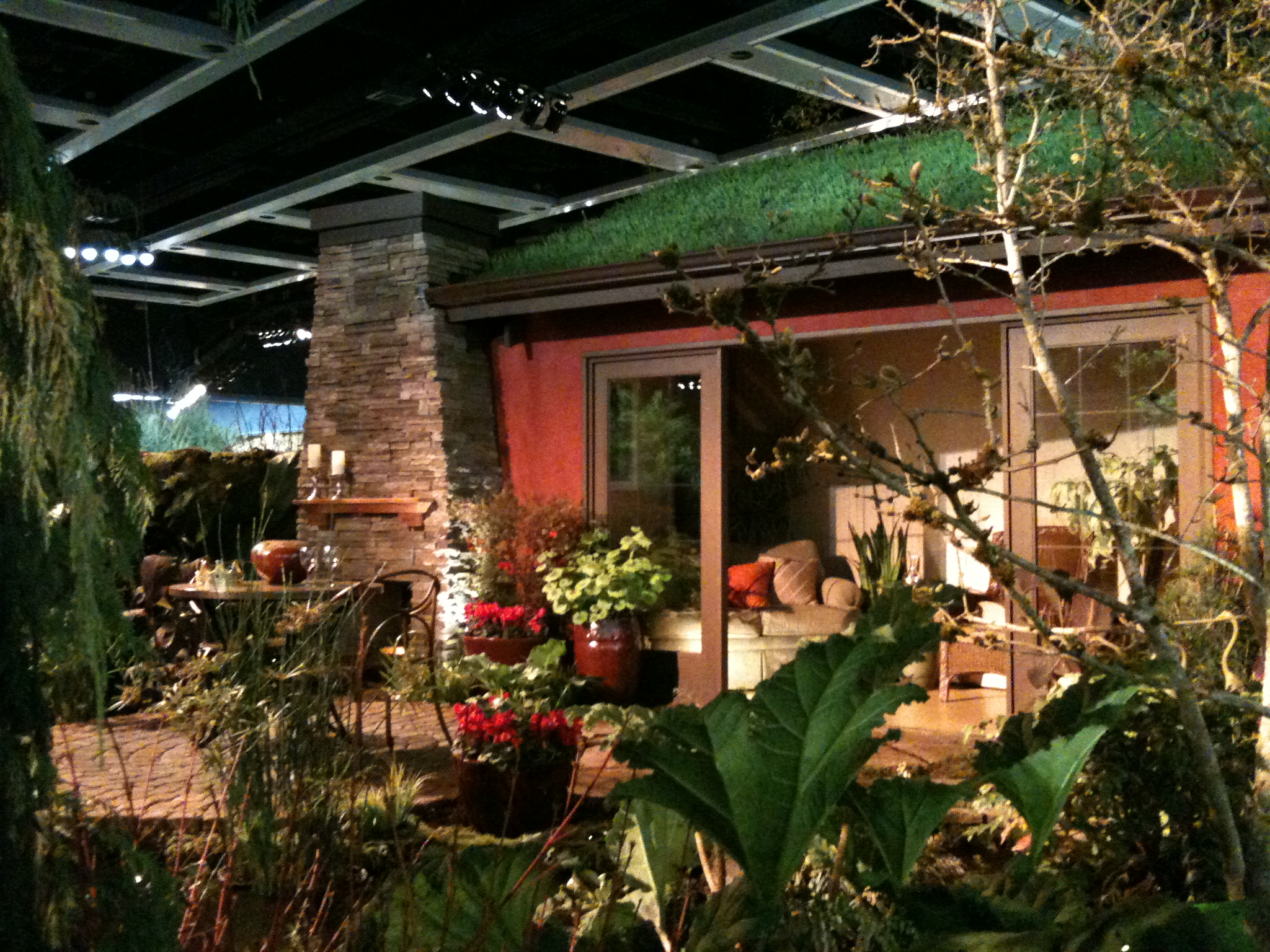Inspiration at the Northwest Flower & Garden Show | KristinPotPie