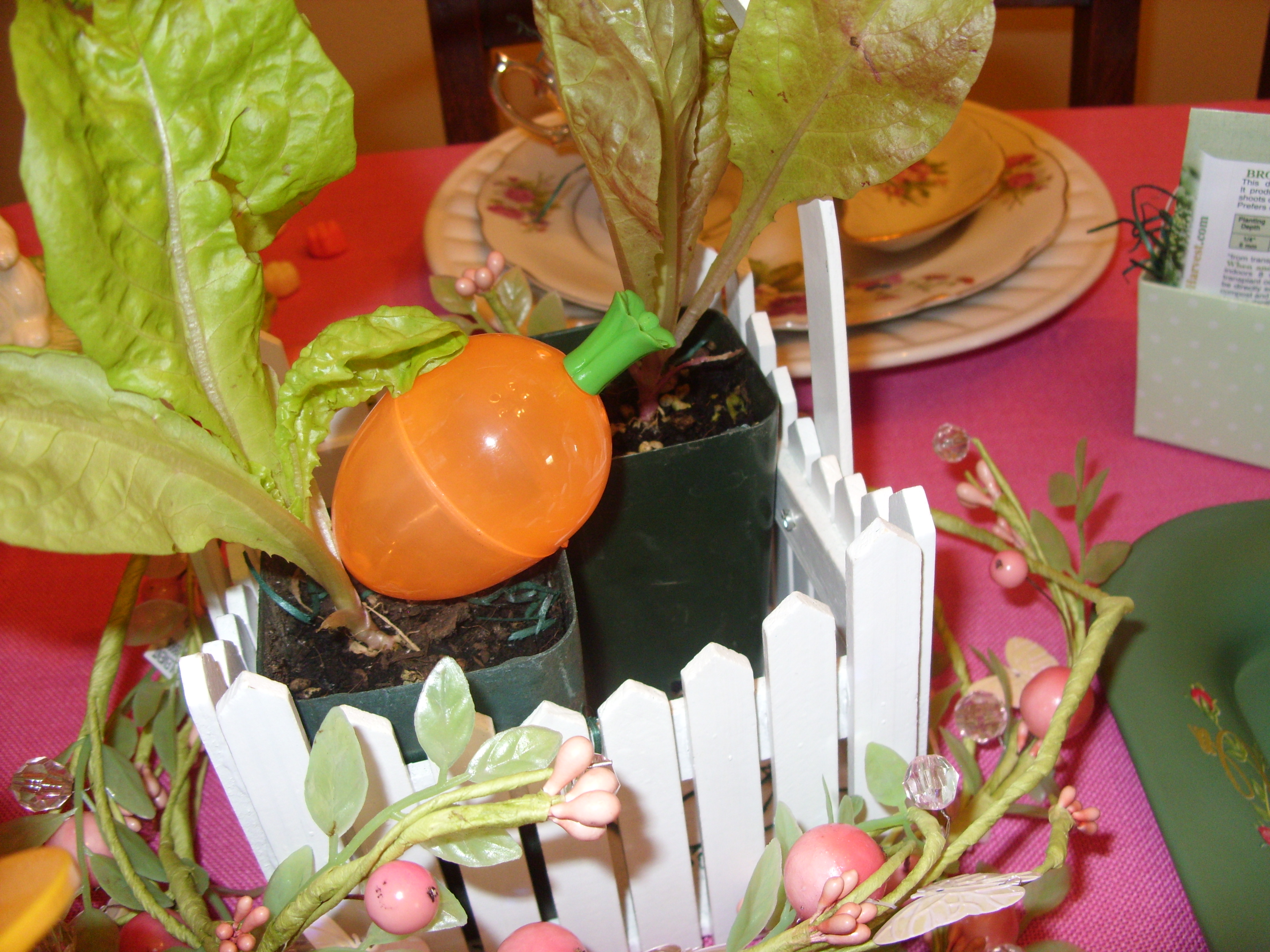 In Mr Mcgregor S Garden An Easter Table Setting