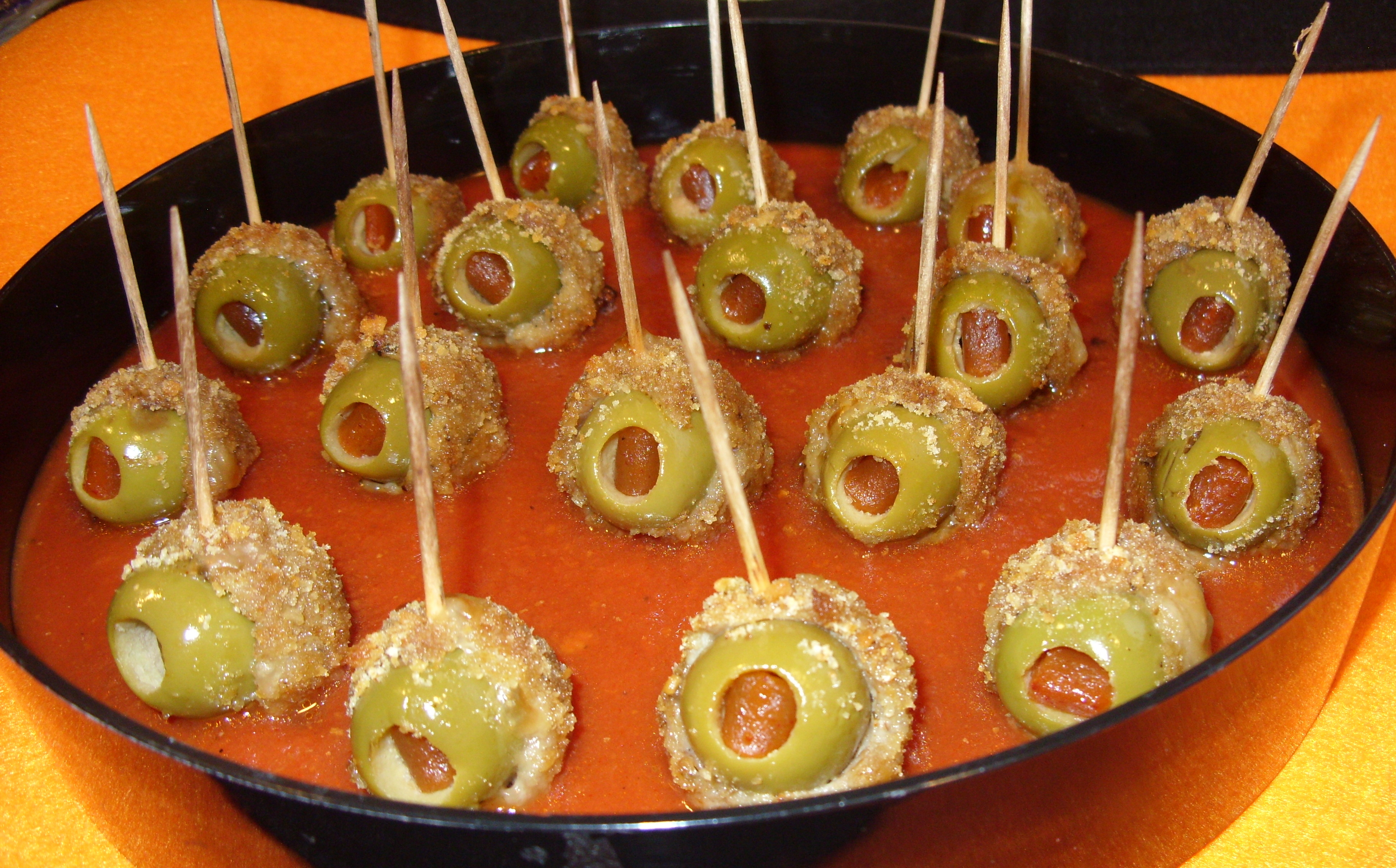 Halloween Recipe: Skewered Bloody Eyeballs | KristinPotPie