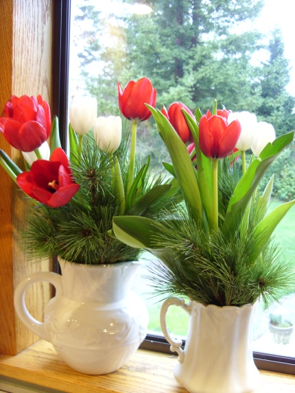 Tulips & Greens