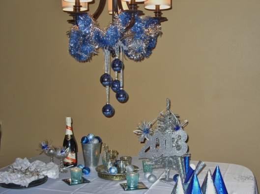 New Years Eve Table