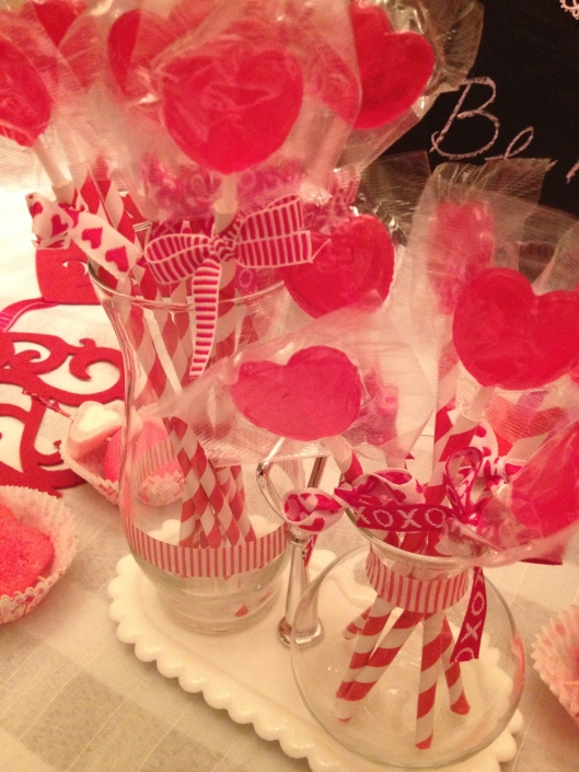 Be My Sweet Table - Lollipop Centerpiece