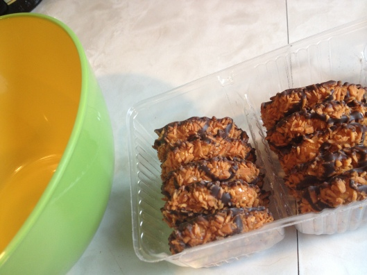 Girl Scout Cookies Samoas