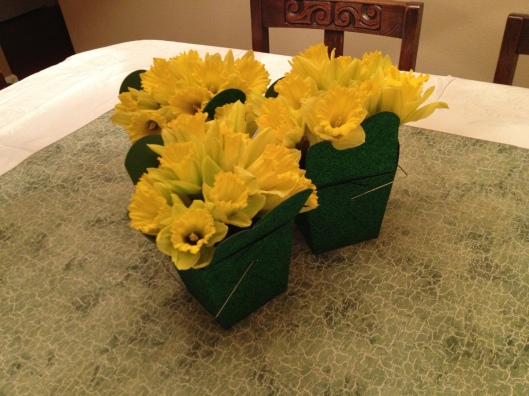 DIY St Patricks Day Centerpiece