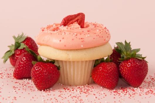 Strawberry 66 Cupcake