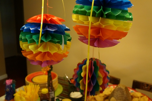 Summer Fiesta Decorations