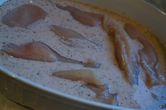 Buttermilk marinade for pretzel  chicken