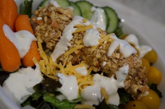 Buttermilk Pretzel Chicken Salad