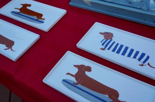 Claudia Pearson Dog Plates - West Elm