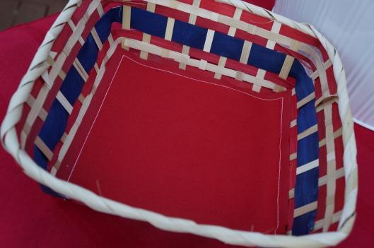 My drap cloth napkins - West Elm