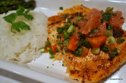 Sweet & Spicy Salmon