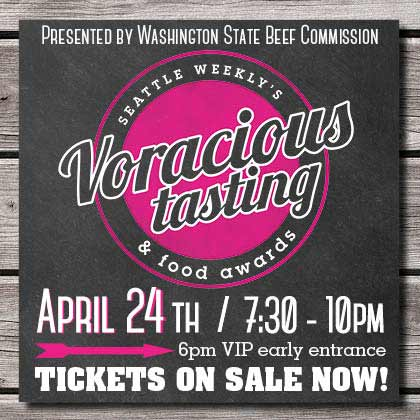 Seattle Weekly Voracious Tasting