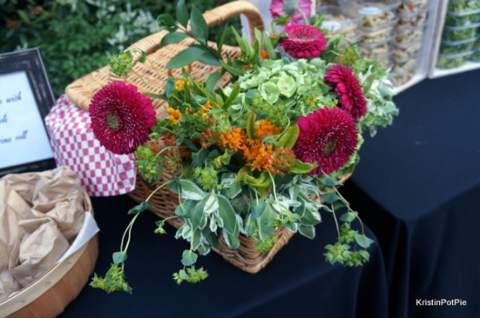 Picnic Basket Floral Arrangement